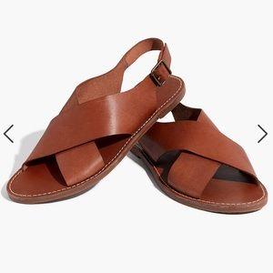 💫Madewell | The Boardwalk Crossover Sandal
